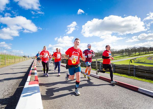 The British Heart Foundation:  Brands Hatch Half Marathon & 10K run