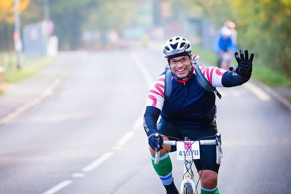 The British Heart Foundation London to Bath Bike Ride