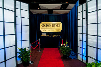 The Golden Ticket - Herman Gore's 50th BDay Bash @ Oasis Temple 11-14-15
