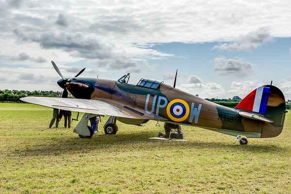 Hawker Hurricane Mark I, R4118