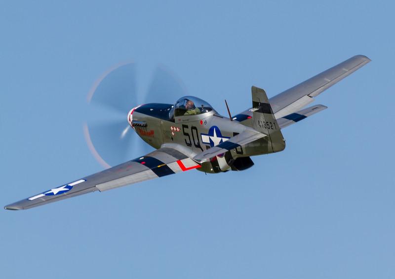 """P-51D Mustang G-MRLL """"Marinell"""""""