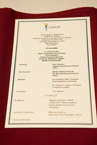 """UNCF Presents - UNCF A """"Mind Is"""" Society Leadership Donors Dinner @ Ballantyne Country Club 12-10-15"""