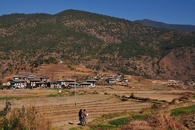 Chimi Lhakhang monastery near Punakha