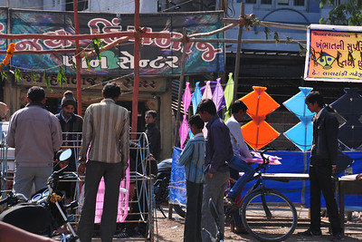 Kite making season in Bhavnagar