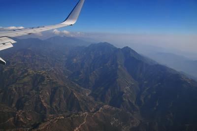 Arriving in Kathmandu valley