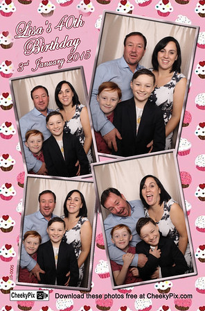 birthday party photo booth hire