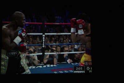 Mayweather vs Pacquiao : Ione Drive Theater