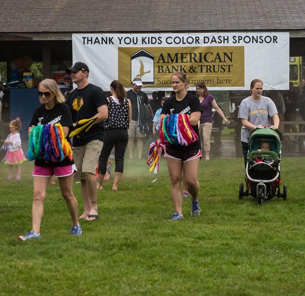 Color the Quads - Kids Run
