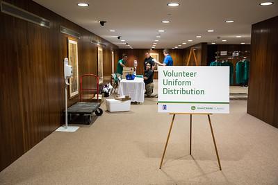 JD Classic Volunteer Uniform Distribution