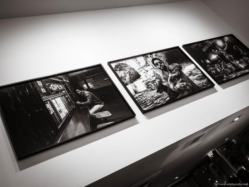 Fotos aus der Ausstellung von Lenny Kravitz