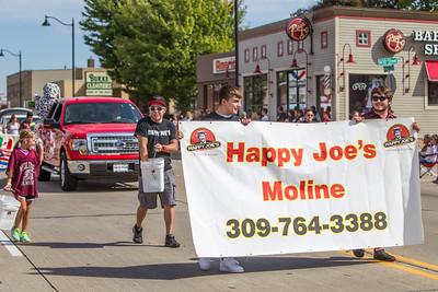 Moline High School Homecoming Parade