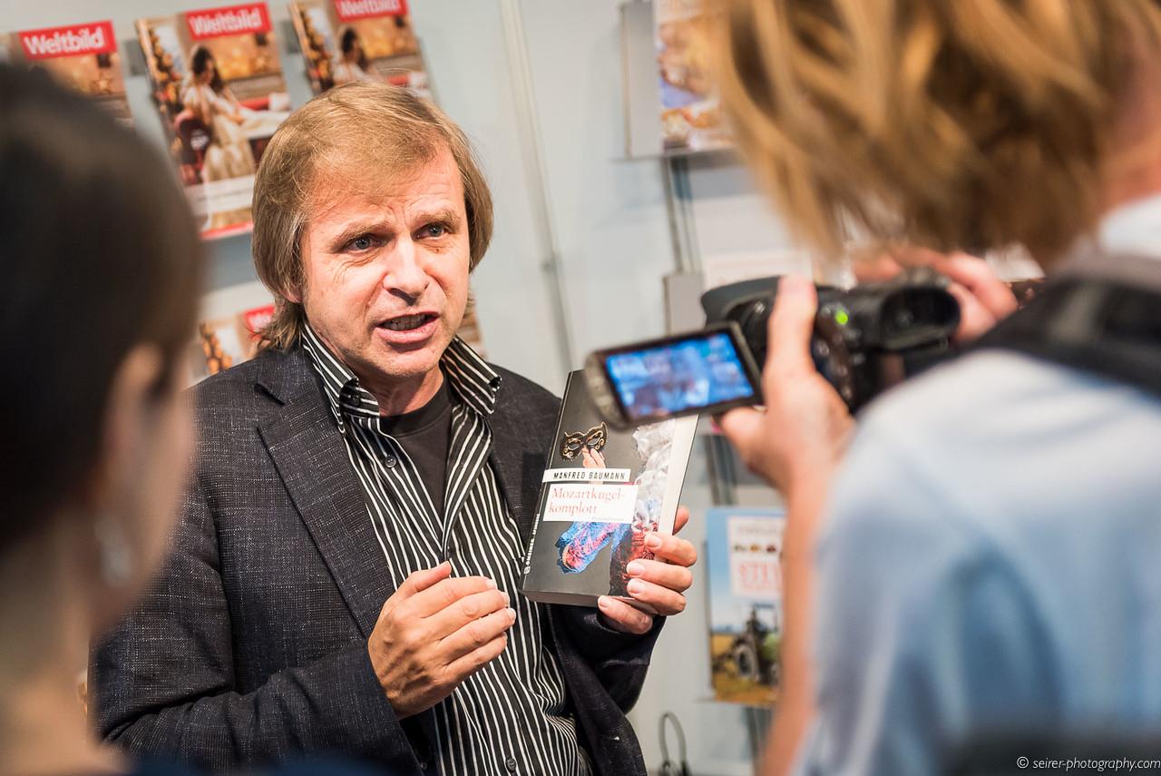 """Manfred Baumann im Gespräch über """"Mozartkomplott"""""""