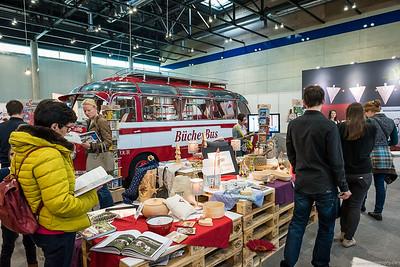 """Bücherbus auf der """"Buch Wien"""""""
