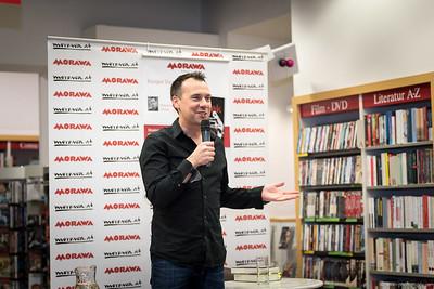 Sebastian Fitzek Lesung bei Morawa Wien 30. November 2015