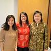 Joyce Yang, Upper Dublin Chinese teacher, Yi Pan, GA Parent, Susan Xuan Amorosi, Director of Chinese Programs