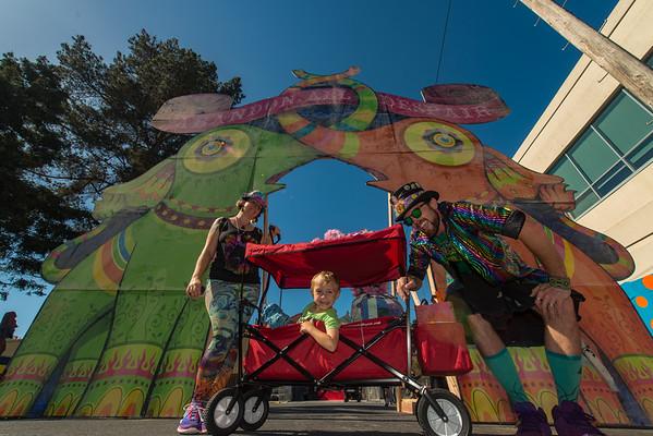 16th Annual San Francisco Decompression Street Fair 2015