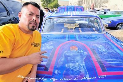"""Miguel Alvarado  """"Rey Mysterio"""" Intimidations Car Club"""