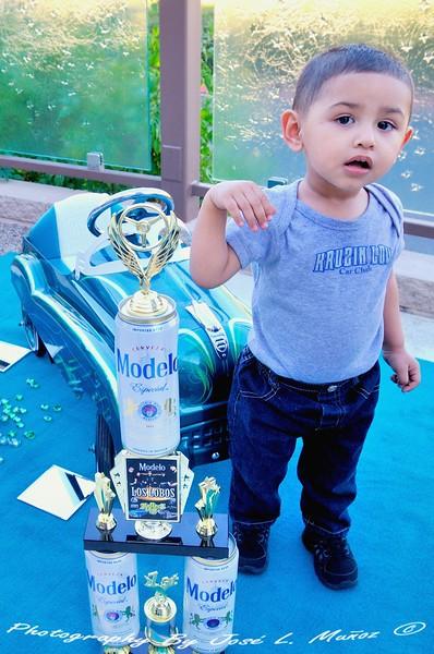 JR Miguel Armas 1st Place - Pedal Car
