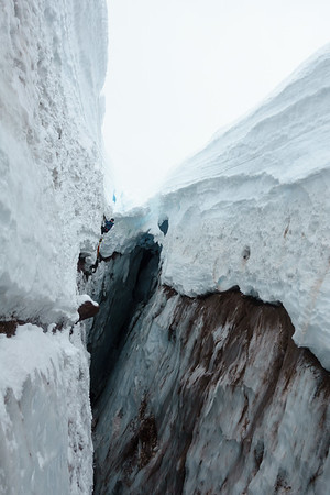 Check out that snow bridge!