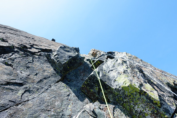 Ropes everywhere; pitch 1.