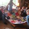 Her quilt! (again, Ginger's handiwork)