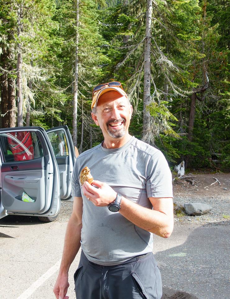 Post-ski banana bread
