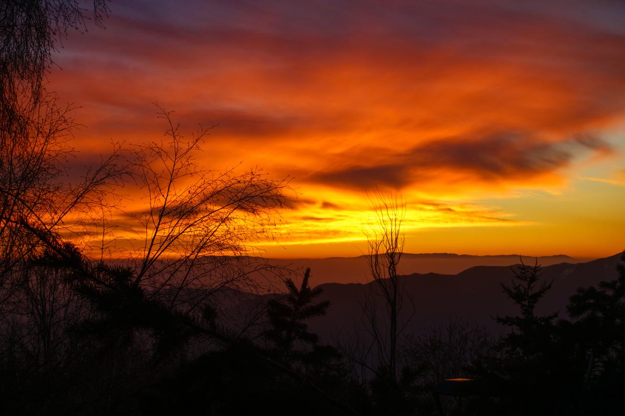 Sunset from PowderLodge. Day 4.