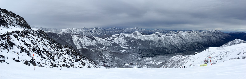 Views from Nevados de Chillan. Lives up to it's name ...