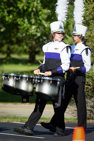 2016-10-22 Butler Marching Band