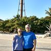 Julie and Doug at Sanibel lighthouse