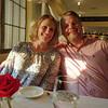 Julie and Doug at Mad Hatter restaurant