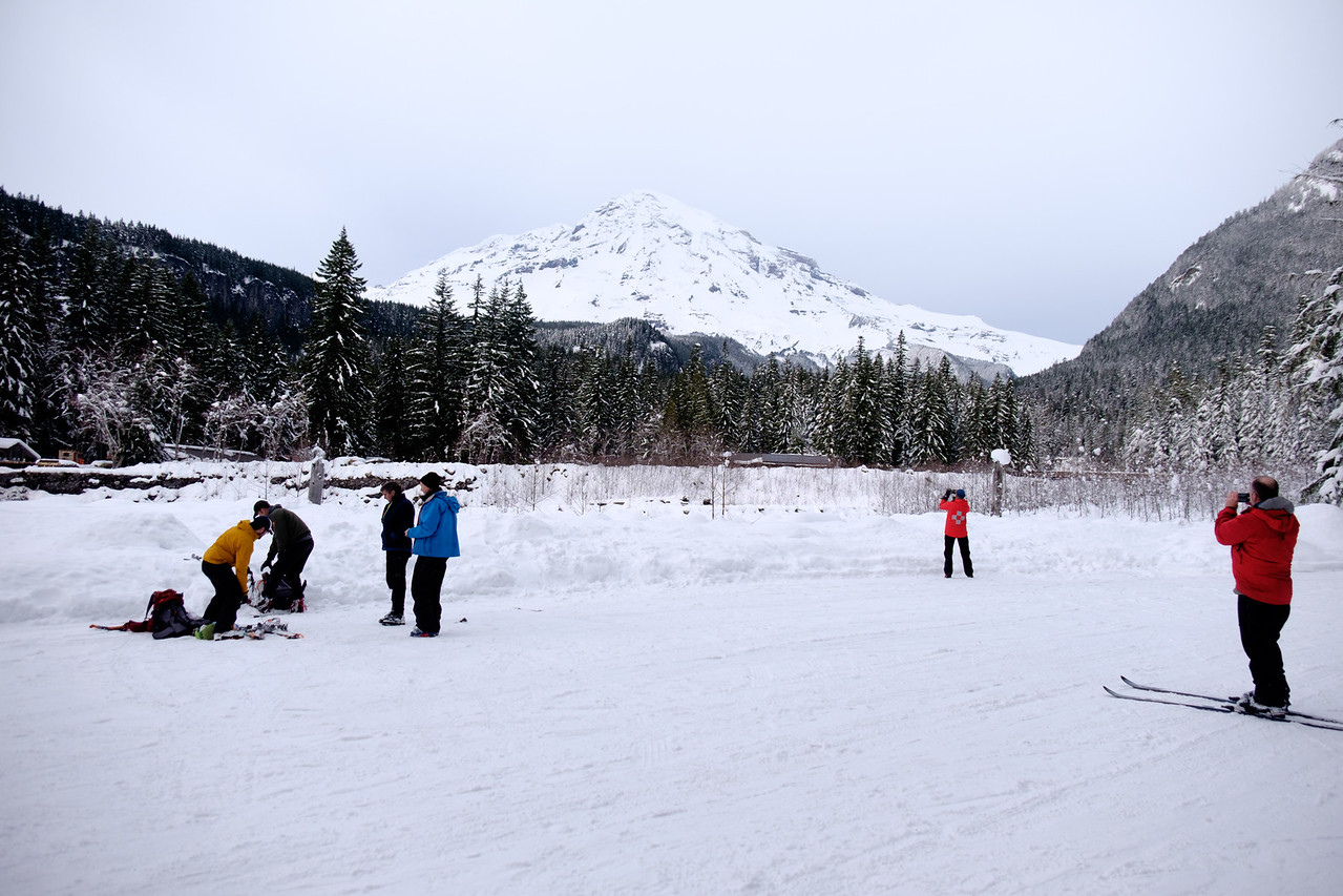 Photos of the mountain, Sunday.