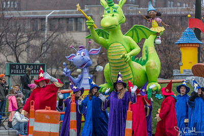 2016 America's Thanksgiving Day Parade in Detroit