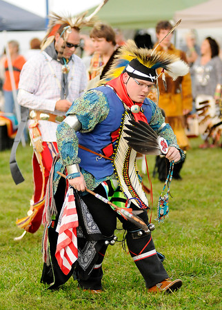 Don Knight   The Herald Bulletin<br /> Andersontown Powwow at Athletic Park on Saturday.