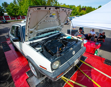 1992 Volkswagen Jetta on the Dyno at Cascade German G2G 2016
