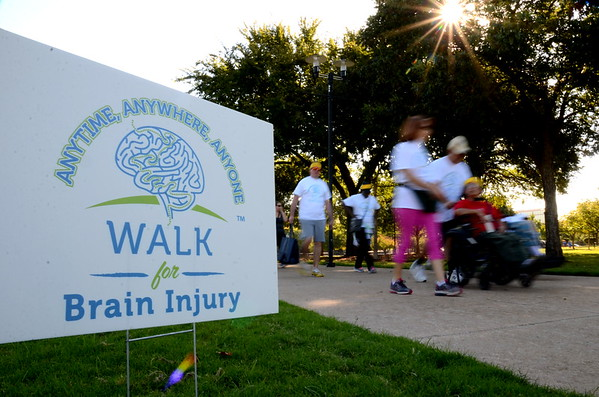 2016: Brain Injury Association of America - Texas Division - Walk For Brain Injury - October 29