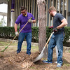 April 28, 2016 - Campus Cleanup Day is a time when faculty, students, staff and administrators work side by side to prepare the campuses for Commencement Weekend and other signature events that occur during the late spring and summer. Photos by Carlo de Jesus