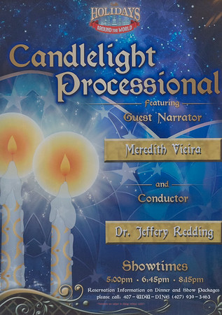 2016 Candlelight Processional with Meredith Vieira