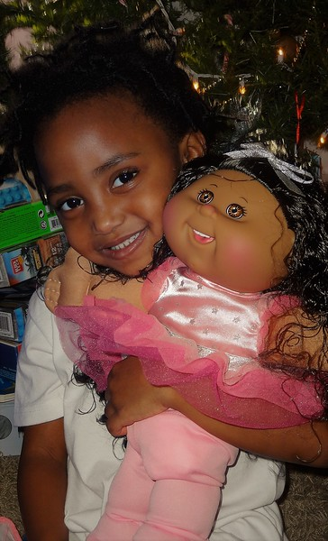 Chloe and her favorite doll