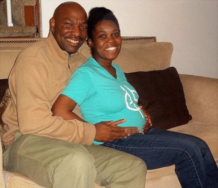 Credell and Renee Walls (newlyweds)