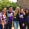 Staff from UAlbany's Division of Student Affairs volunteered at four different City of Albany sites for Confab 2016. (Photo courtesy of Ema Buco)