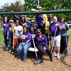 Staff from UAlbany's Division of Student Affairs volunteered at four different City of Albany sites for Confab 2016. (Photo courtesy of Meghan Nyman)