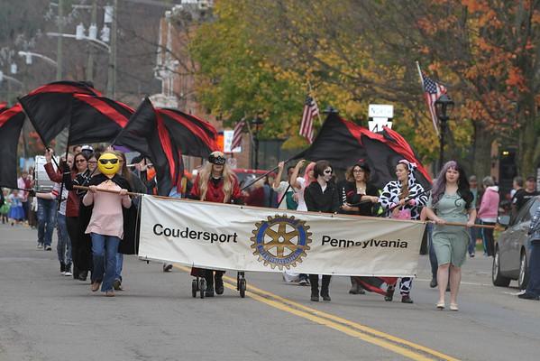 2016 Coudy Holloween Parade