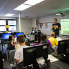 "New College of Florida Students at Bay Haven School of Basics Plus for an ""Hour of Code"""