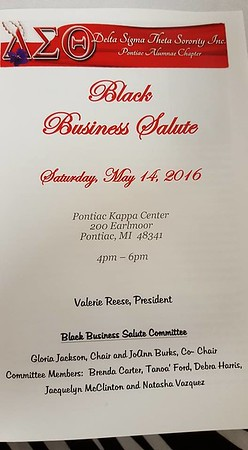 2016 Delta Business Salute