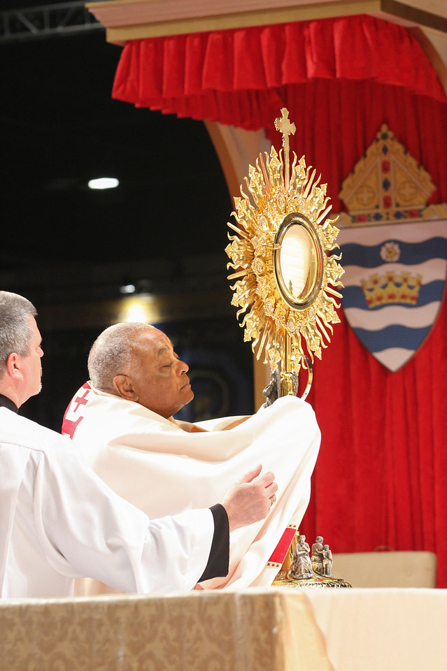 Day 2 of Eucharistic Congress