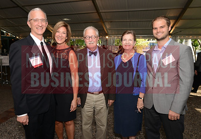 From left, Most Admired CEO Matt Kramer of the St. Paul Chamber of Commerce, his wife Mary Rowles, Peter Kramer, Bonnie Kramer and Jack Link