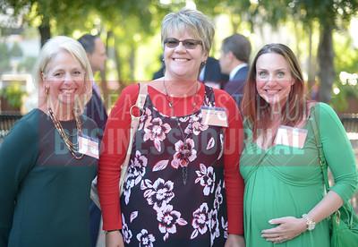 From left, Cecelia Catier, Michelle Walstad and Aleesha Webb