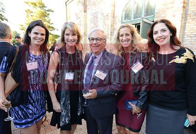 From left, Isabel Ludcke, Most Admired CEO Honoree Christine Fruechte, Howard Liszt, Ellen Walthour and Meghan Wilker