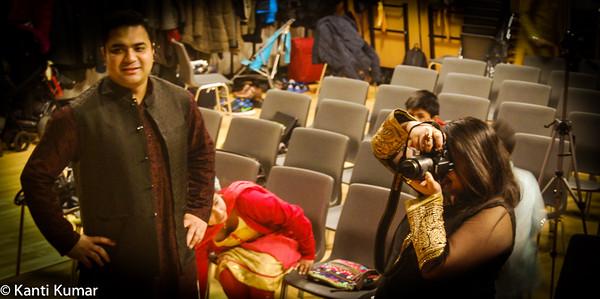 Saraswati Puja in Copenhagen, organized by Bengalis in Denmark (BID) on 13 February 2016
